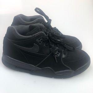 sports shoes e21ed 4c429 Nike   Air Flight  89 Sneakers Black Size 7 EUC